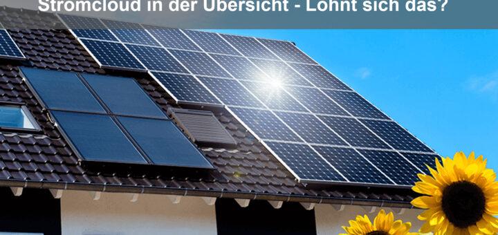 Lohnt sich eine Cloud für Photovoltaik und Strom?